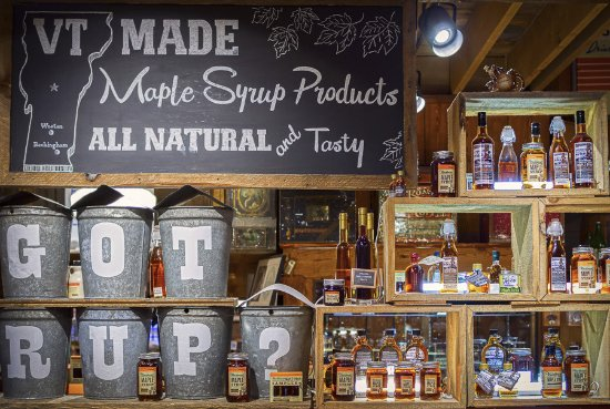 Weston, Вермонт: Tempting Vermont maple syrup