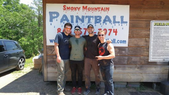 Seymour, TN: Bachelor Party shenanigans at SMP!