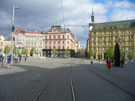 Brno, República Tcheca: Площадь Свободы
