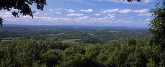 Blue Mounds, WI: View from the top