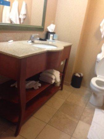هامبتون إن آند سويتس جرينفيلد: large bathroom