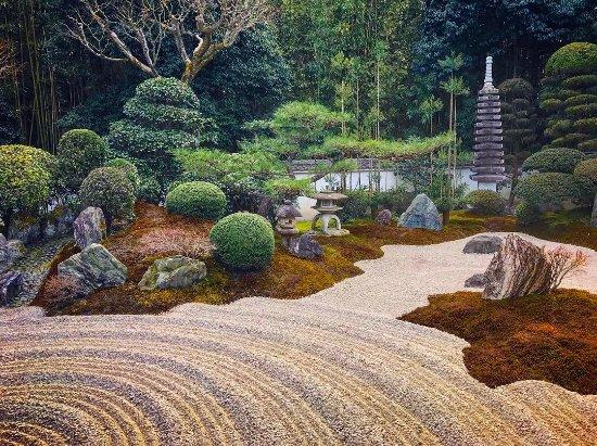 Secret Zen Garden In South Kyoto Picture Of Kyotours Japan Kyoto