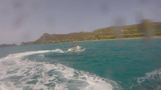 Falassarna, Grèce : Jet Ski Experience