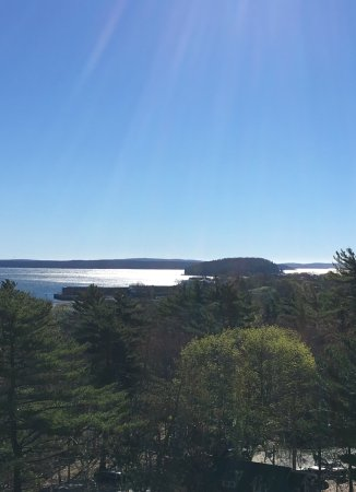 Bluenose Inn - A Bar Harbor Hotel: View from our balcony!
