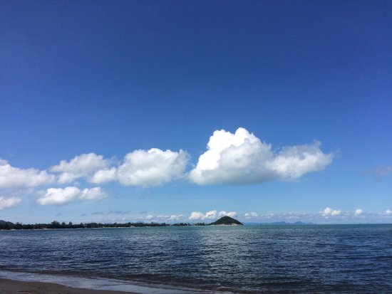 Липа-Ной, Таиланд: Пляж днем