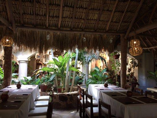 Izamal, Meksyk: Dining Area