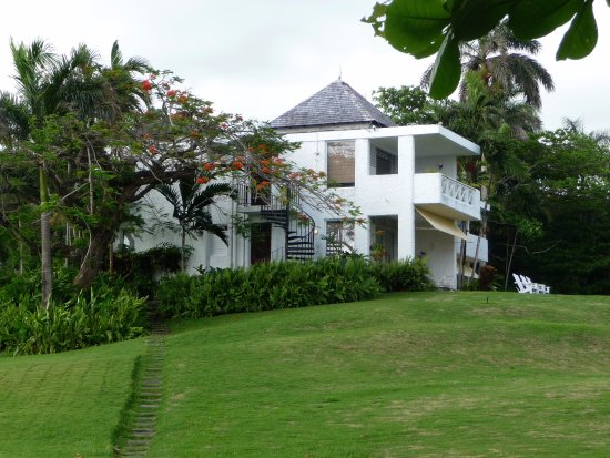 Goblin Hill Villas at San San: View of our villa from the grounds