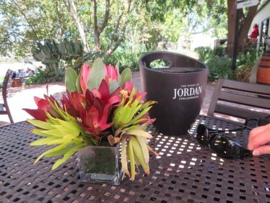 Jordan Wine Estate: Ready for wine tasting