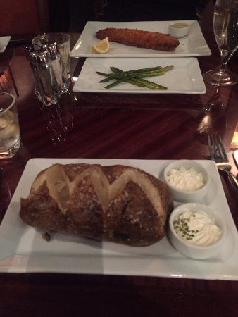 Northwood, IA: Biggest Baked Potato I have ever seen!