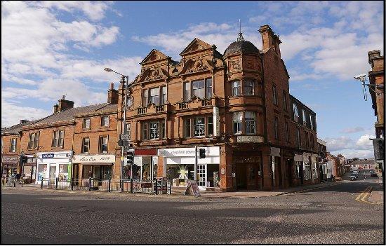 Annan, UK: Hotel Front