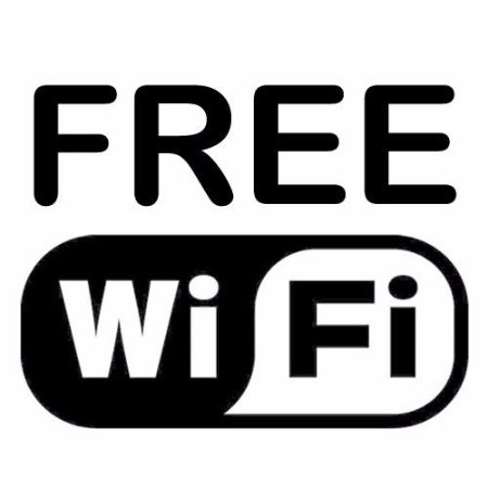 Annan, UK: Free Wifi throughout the hotel & cafe