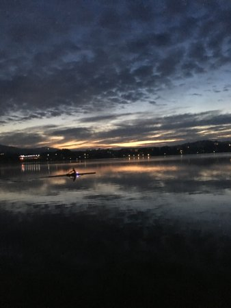 Forrest Hotel And Apartments: Morning Rowing on Lake Burley Griffin