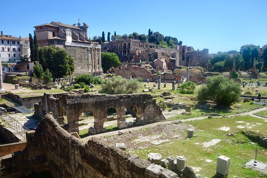 roman forum self guided tour