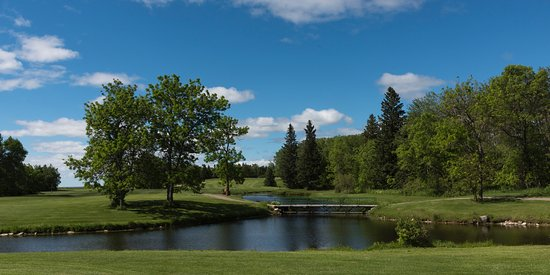 Hecla Island, Canadá: The lake view at Lakeview Hecla Golf Course