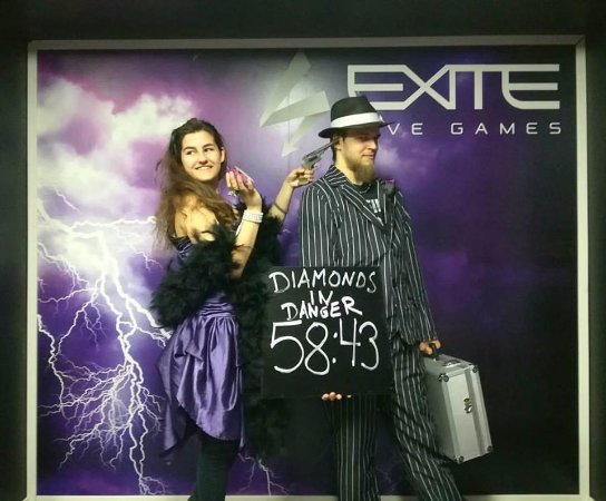 EXITE Live Games: Diamonds in Danger