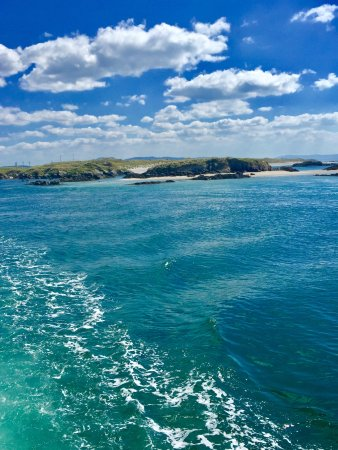 Burtonport, Irland: Crystal clear water