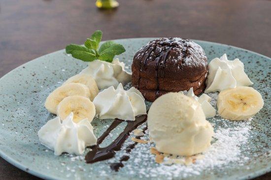 Drobollach am Faakersee, Austria: Schokoladen Bananen Brownie für Genießer
