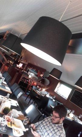 Oudenaarde, Belgium: restaurant interior