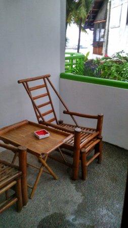 357 Boracay: veranda