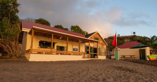 St. Eustatius: Our dive center is located in a total renovated 17th century old warehouse