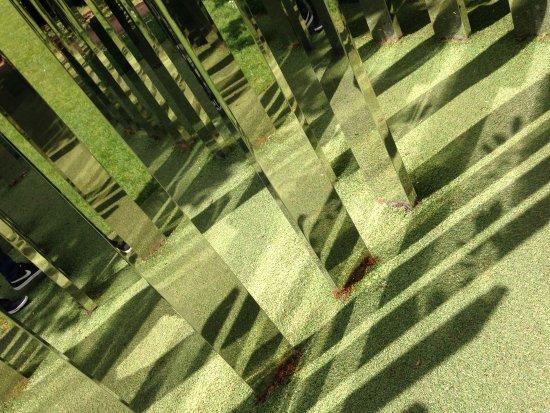 Bristol, VT: Mirrored labyrinth