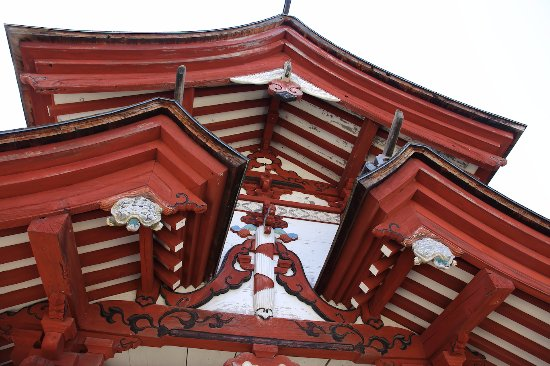 Seiganji Temple : 山門の装飾