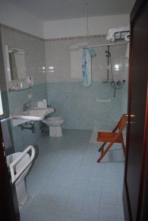 bagno per portatori di handicap - Picture of Larus Hotel ...