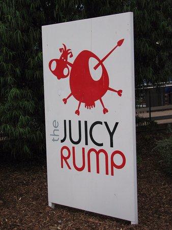 The Juicy Rump: Sign