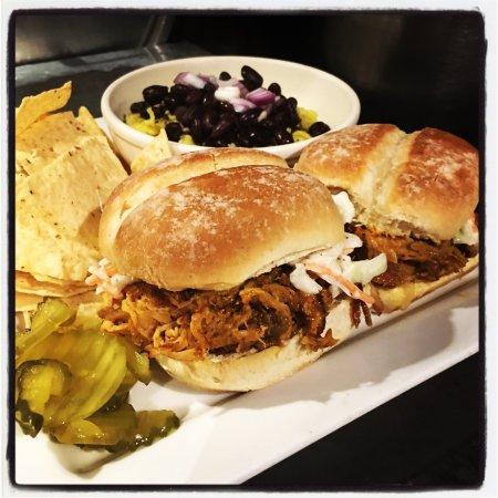 Brownwood, TX : Pulled Pork Sliders!