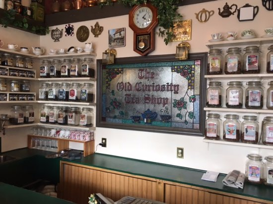 Old Curiosity Tea Shop: Memorabilia from days gone by