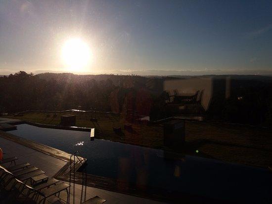 Sao Teotonio, Portugal: Vista do restaurante do Hotel