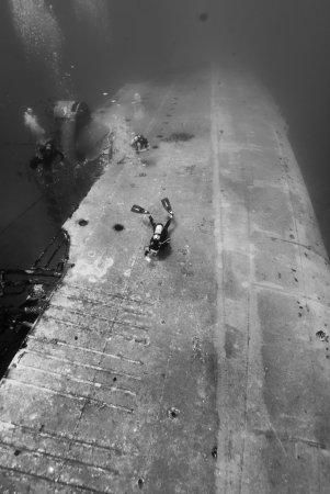 San Eustaquio: The Charles Brown wreck