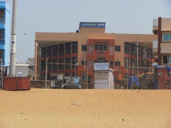 Asian Inn Beach Resort: View from the beach .