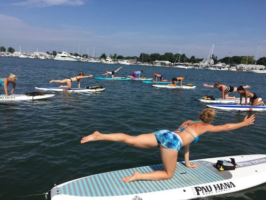 Clinton, CT: SUP Fitness Classes