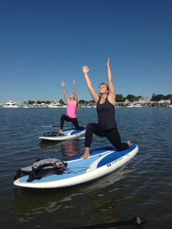 Clinton, CT: SUP Yoga