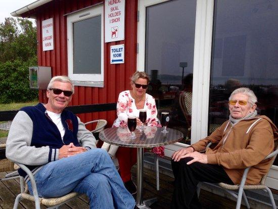Samsoe, Danemark : Smokehouse Langør