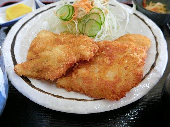 Kihoku-cho, Japan: マンボウのフライ定食