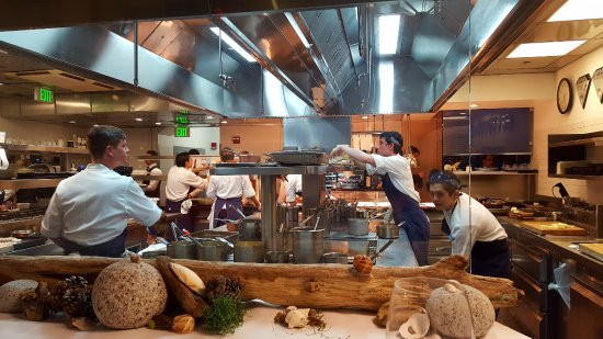 L'Espalier: Our view from the Chef's Table