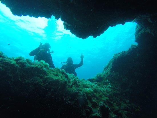 Aegiali, Hellas: cavern diving