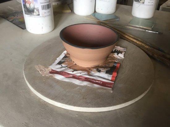Newbridge-on-Wye, UK: Amy's Bowl
