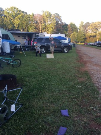 Lincoln, AL: Camp Site