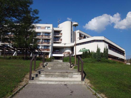 Luhacovice, Tsjekkia: ADAMANTINO od přehrady