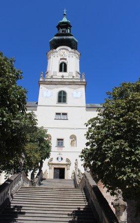 Nitra, Slovakia: Vista con scalinata