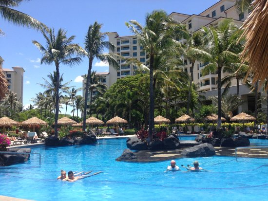 Marriott Ko Olina Beach Club One Of Four Pool Areas