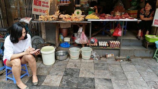 Khách sạn Hà Nội Medallion: Ma May street