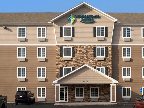 Entrance - Picture of WoodSpring Suites Midland - Tripadvisor
