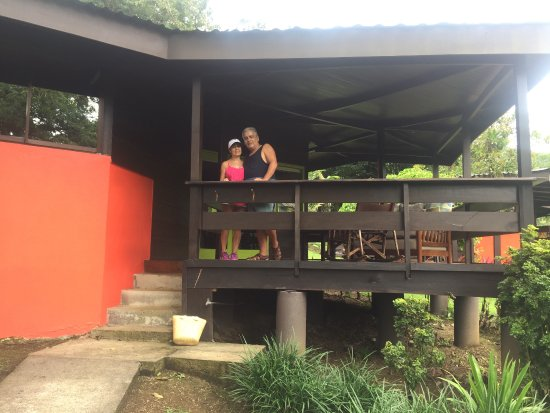 Chachagua, Costa Rica: Terraza de la cabaña
