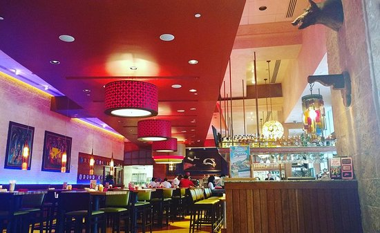 Pappasito's Cantina: the beautiful interior