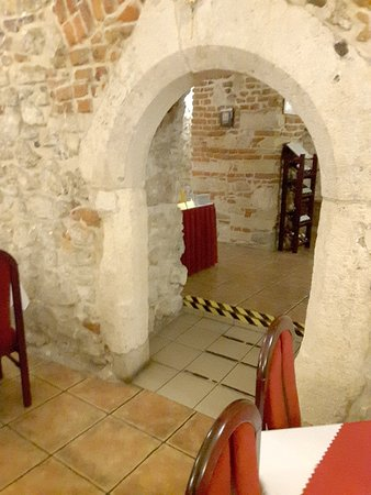 Wit Stwosz Hotel : Lovely basement restaurant