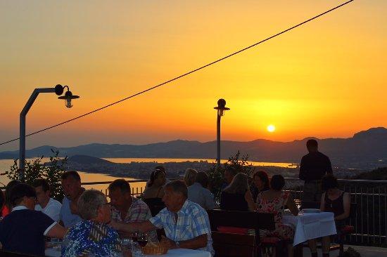 Podstrana, Croatia: Sunset